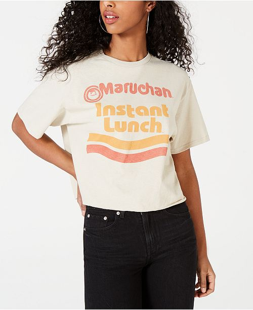 Mighty Fine Juniors' Cotton Instant Lunch T-Shirt