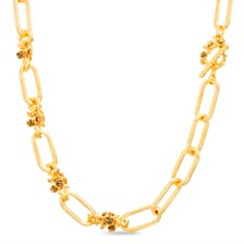 Steve Madden Square Chain Necklace