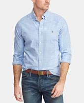 1d1b1d8fb Polo Ralph Lauren Men's Slim-Fit Stretch Oxford Shirt