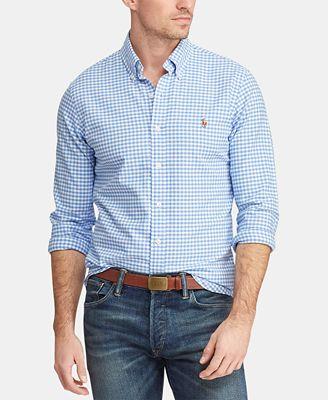 Polo Ralph Lauren Men S Slim Fit Stretch Oxford Shirt Reviews