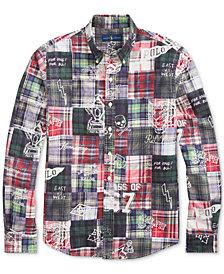 Polo Ralph Lauren Men's Classic-Fit Patchwork Shirt
