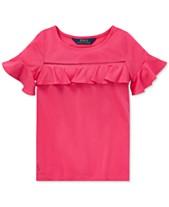 Girls Shirts   T-shirts - Tops for Girls - Macy s 17b4a97a8d73