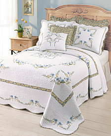 Modern Heirloom Heather Bedspread-King