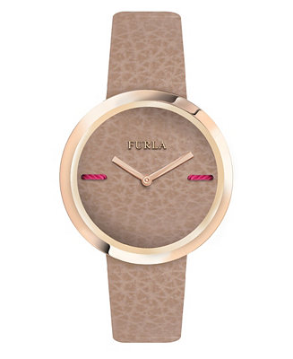 Women's My Piper Brown Dial Calfskin Leather Watch by General