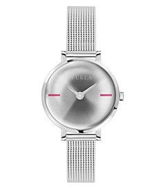 Women's Mirage Silver Dial Stainless Steel Watch