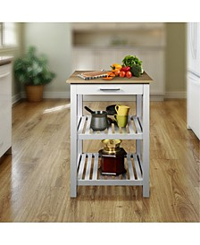 Sunrise Kitchen Island with American Maple Top
