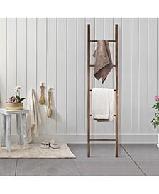 Decorative Ladder with Solid Walnut
