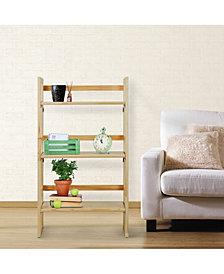 "3 - Shelf Folding Student Bookcase 20.75"" Wide"
