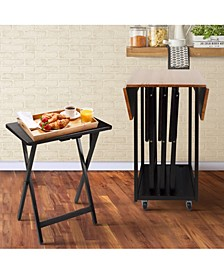 Drop Leaf Table with TV Tray