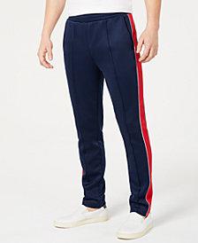 Michael Kors Men's Performance Stretch Side Stripe Track Pants