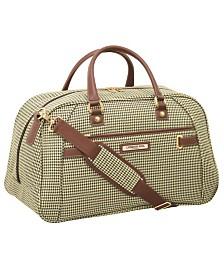 "London Fog Oxford II 21"" Softside Weekend Duffel Luggage, Created for Macy's"