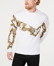 Versace Men's Pieced Logo Sweatshirt