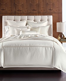 Ivory Luxe Border Bedding Collection, Created for Macy's