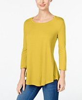 292c9ca3d11 JM Collection Scoop-Neck Top, Created for Macy's
