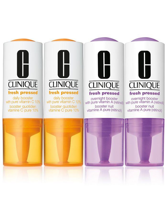 Clinique - 4-Pc. Fresh Pressed Booster Set