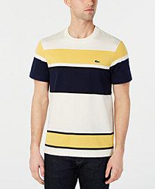Lacoste Men's Colorblocked Striped T-Shirt