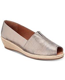 Gentle Souls by Kenneth Cole Women's Luci A-Line Espadrille Wedges