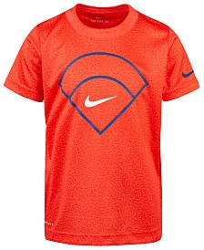 Nike Toddler Boys Baseball Diamond-Print T-Shirt