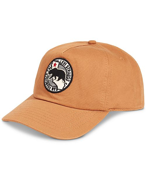 Levi's Men's Twill with Seasonal Patch Baseball Hat