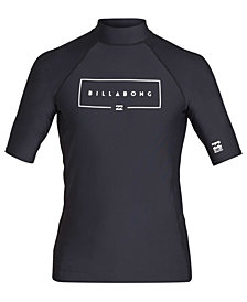 Billabong Big Boys Logo Graphic Rash Guard