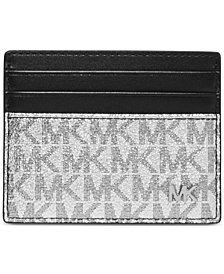 Michael Kors Men's Jet Set Logo-Print Tall Card Case