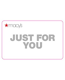 Just For You E-Gift  Card
