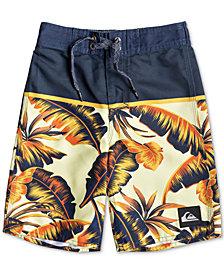 "Quiksilver Little Boys Everyday Noosa Tropical-Print 14"" Board Shorts"