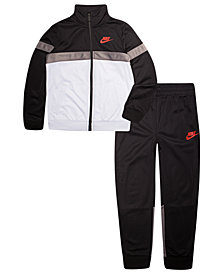 Nike Toddler Boys 2-Pc. Colorblocked Tricot Jacket & Pants Set