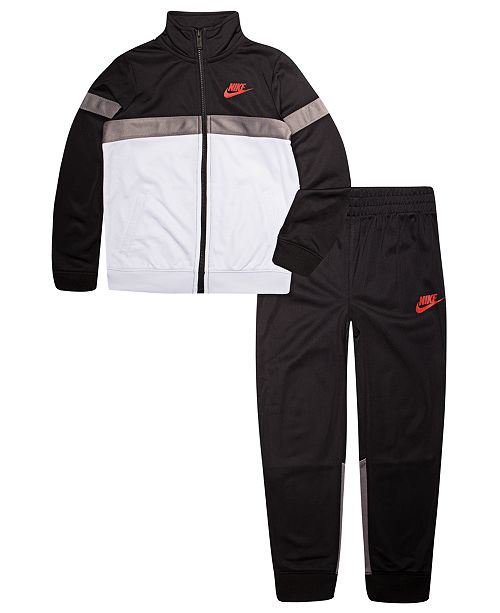 956df852a9 Nike Little Boys 2-Pc. Tricot Track Jacket & Pants Set & Reviews ...