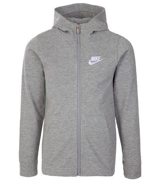 3692e10c80 Nike Toddler Boys Zip-Up Cotton Hoodie & Reviews - Sweatshirts ...