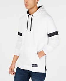 A|X Armani Exchange Men's Striped-Sleeve Hoodie