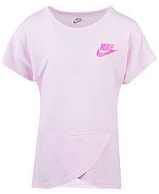 Nike Little Girls Futura Crossover T-Shirt