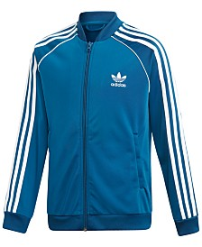 adidas Big Boys Original Superstar Track Jacket