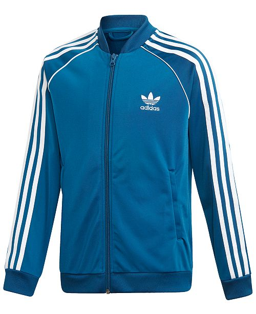adidas adidas Big Boys Original Superstar Track Jacket