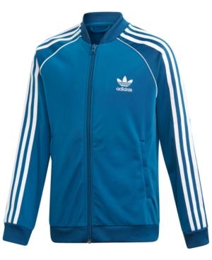 adidas Big Boys Original Superstar Track Jacket