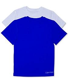 Calvin Klein Little & Big Boys 2-Pack Cotton T-Shirts
