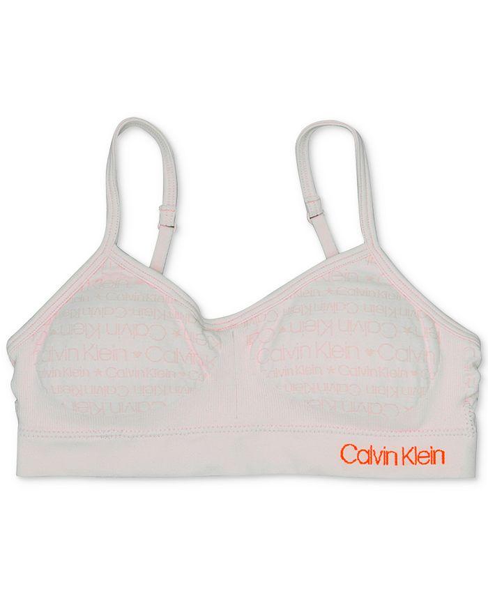 Calvin Klein - Little & Big Girls Seamless Crop Bra