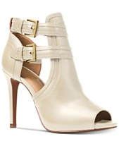a82afd1380b MICHAEL Michael Kors Blaze Peep-Toe Dress Booties