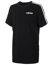 adidas Big Boys Three-Stripe Graphic T-Shirt