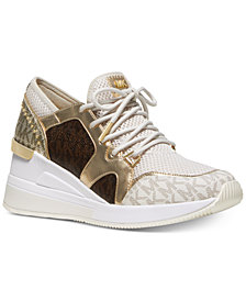 MICHAEL Michael Kors Liv Bubble Trainer Sneakers