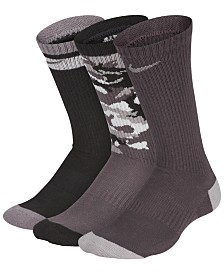 Nike Little & Big Boys 3-Pack Crew Socks