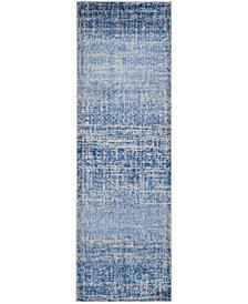 "Safavieh Adirondack Blue and Silver 2'6"" x 8' Area Rug"