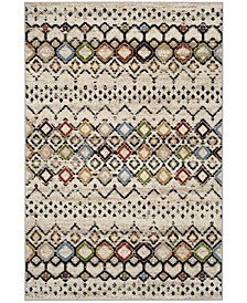 Amsterdam Ivory and Multi 4' x 6' Area Rug
