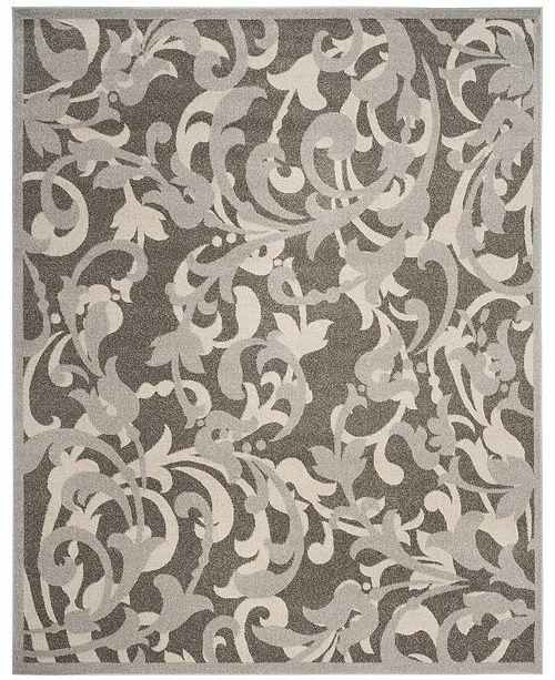 Safavieh Amherst Gray and Light Gray 8' x 10' Area Rug