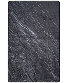 Daytona Black 3' x 5' Area Rug