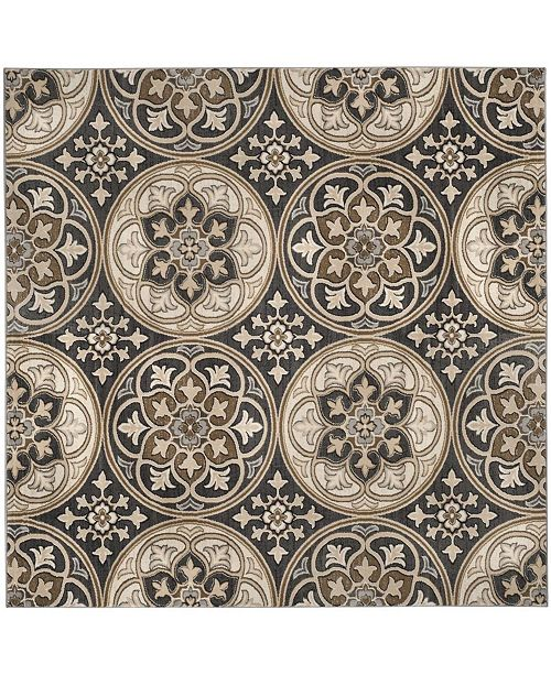38ff4627a27 Safavieh Lyndhurst Light Gray and Beige 8  x 8  Square Area Rug ...
