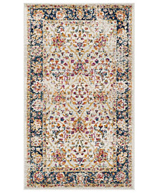 Safavieh Madison Cream and Navy 3' x 5' Area Rug