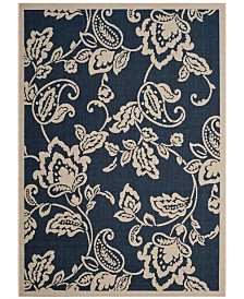 "Safavieh Martha Stewart Navy and Beige 5'3"" x 7'7"" Area Rug"