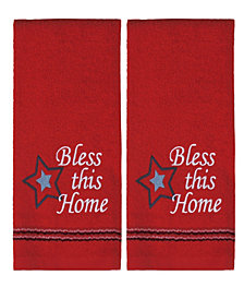 Bless This Home 2 Piece Hand Towel Set