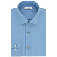 Deals on Calvin Klein Steel Men's Big & Tall Classic-Fit Dress Shirt